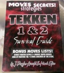 New Gaming Mastery Playstation one PS1 Tekken 1 and 2 Survival Strategy Guide $15.00