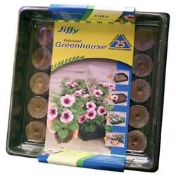 Greenhouse Gardening Plant Seeding Starter Kit Indoor Jiffy Peat Pot Growth Home