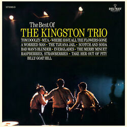 Kingston Trio Best Of The Kingston Trio Vinyl LP NEW sealed
