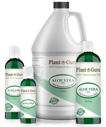 Aloe Vera Oil 100% Pure Cold Pressed Carrier Liquid Organic For Skin Face Hair $14.95