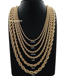 Hip Hop Rope Chain Necklace 20