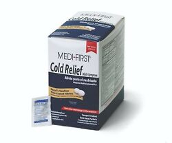 Medi First Multi Symptom Cold Relief Coated Tablets 500 tablets #82213 $35.99