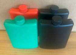 12 Pack Gray -  Plastic Alcohol Flask  -  Free Shipping