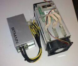 Bitmain Antminer S7 with Bitmain APW3++ power supply 4.7 THs
