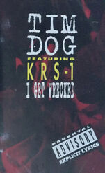 TIM DOG ft.KRS 1 I Get Wrecked PA CASSETTE TAPE Maxi Single $14.98