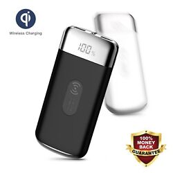 POWERNEWS 2000000mAh Power Bank Qi Wireless Charging Portable Battery Charger $22.90