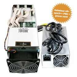 Antminer S9 13.5THs-Including Bitmain APW3++ PSU-Immediate Shipping