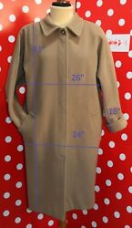 MARELLA by MAX MARA sz 40 us6 eu36 coat woolcashmere coat  women
