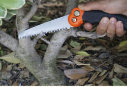 Compact Folding Saw Camping Survival Pruning Garden Pocket Outdoor Backpacking $8.99