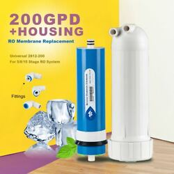 NSF Commercial Water Purifier Element 200 GPD Membrane & Housing Low Pressure