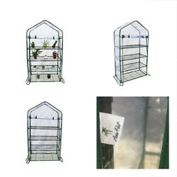 4 Tier Mini Greenhouse Portable Lawn And Garden House 40