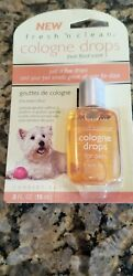 Lambert Kay Dog Grooming Fresh 'n' Clean Cologne Drops RARE HARD to FIND .5 OZ