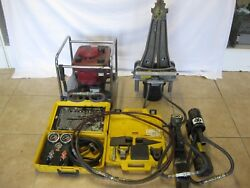 HURST JAWS OF LIFE RESCUE SYSTEM Power Jaws Rams Hoses Airbag Control
