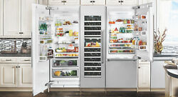 Fhiaba FI24BWR-LGO Integrated Series 24 Inch Built-In Wine Cooler