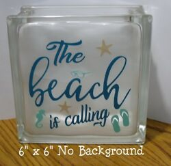 The Beach is Calling Decal sticker for 8