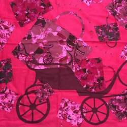 Hermes Carre 140 Stole Scarf Shawl Kelly Bag Print Cashmere Silk Women Pink Rare