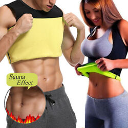 Men Neoprene Vest Cami Hot Gym Women Sauna Sweat Thermal Tank Girdle Cami Shaper
