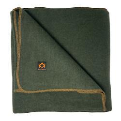 Arcturus Military Wool Blanket - 4.5 lbs Warm Thick Washable Large 64