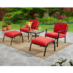 5 Piece Dining Set Patio Outdoor Bistro Garden Furniture Deck Yard Table Chairs