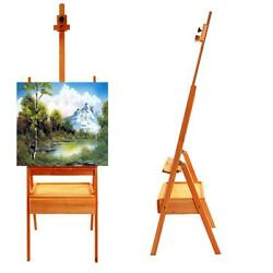 Durable French Easel Stand Wooden Sketch Box Portable w Dispaly Artist Painters $42.69
