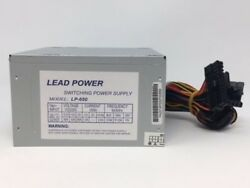 NEW***Lead Power 650w Max ATX Power Supply 204pin amp; SATA $23.95