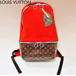 Louis Vuitton LV Mark Newson Backpack Bag Rucksack Monogram M40277 2014 Ld Rare