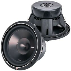 P3D2 12 ROCKFORD FOSGATE PUNCH P3 12quot; DVC 2 OHM SUBWOOFER 1200 WATTS **NEW** $219.99