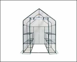 Greenhouse Kits Mini Gardening Supplies Portable Small Patio 6 Tier 12 Shelves