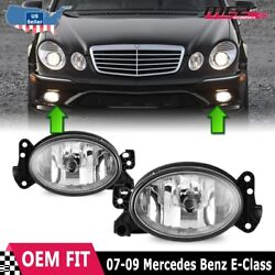 For Mercedes Benz E-Class 02-10 Factory Bumper Replacement Fog Light Clear Lens $33.49