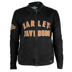 Harley Davidson® Men#x27;s Becher Garage Jacket 98569 16VM $64.95
