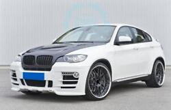 For BMW X6 E71 Front Rear Car Bumper Side Skirts Exterior Bodykits Refit