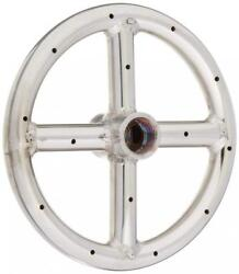 American Fireglass Stainless Steel Fire Pit Burner Ring 6-Inch