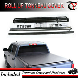 Fits 2007-2019 Toyota Tundra 6.5 Ft Bed Vinyl  Soft Lock Roll Up Tonneau Cover
