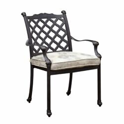 Furniture of America Gamilt Metal Patio Dining Chair (Set of 4)