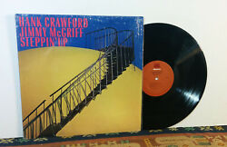Hank Crawford  Jimmy McGriff ‎– Steppin' Up LP 1987 Soul Jazz Blues NM+