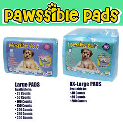 Pawssible Training Pads for Dogs amp; Cats. Finest Quality Pads for ANY SIZE of Pet $19.99