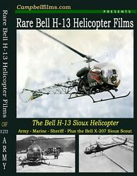 The Bell H 13 Helicopter The Military Version of the Bell 47 Army USMC $16.98