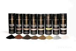 TOPPIK 9 COLORS TO CHOOSE FROM Hair Loss Building Fiber LARGE-27.5g SIZE