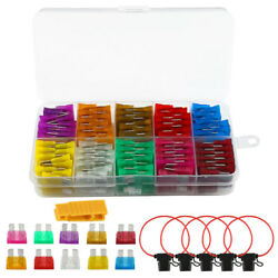 Auto Standard Blade Type ATC Fuse + Inline 16 AWG Gauge Holder F Car Boat truck