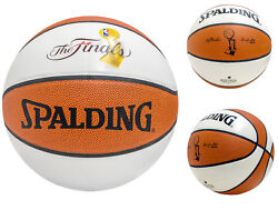 Official Spalding NBA Finals Champions Autograph Basketball Full Size $31.99