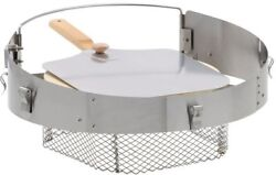 Pizza Oven Kit for Kettle BBQ Charcoal Grills Outdoor Cooking Cooker Aluminum
