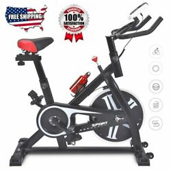 Pro Stationary Exercise Bike Bicycle Trainer Fitness Cardio Cycling Training Gym $175.90