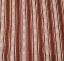Rustic Living Arthur Kenneth Quilting Treasures BTY North Woods Brown Tan Stripe $5.99