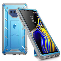 For Samsung Galaxy Note 9 Case Poetic Full Cover with Screen Protector Blue $9.85