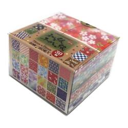Washi Origami Chiyogami Japanese paper 360sheets 30 Designs 75x75mm From JAPAN $17.50