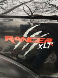 Set Of Two. Ford Ranger sticker decals