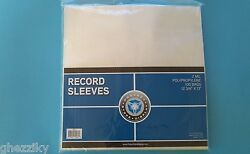 100 PLASTIC OUTER SLEEVES VINYL RECORD LP ALBUM PLASTIC COVERS $18.95