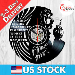 Frank Zappa Signed Vinyl Record Wall Clock Art Decor Best Gifts Quotes a mind is $24.99