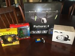 Drone Set With Extra Battery VR Goggles And Two Small Hand Controled Drones C $475.00