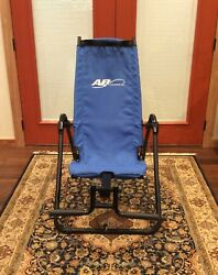 AB LOUNGE 2 ABDOMINAL CORE EXERCISE FITNESS CHAIR EXCELLENT BARELY USED